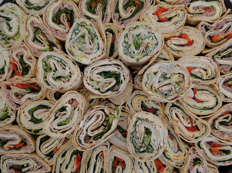 Wraps Food Healthy Tortilla